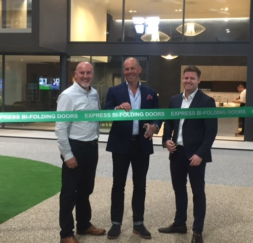 Opening of Express Bi-folding Doors showroom in Leeds.  An extensive range of our work can be seen if you're in the area.